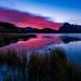 Vermillion Lakes Sunrise by Mark Willard Photography