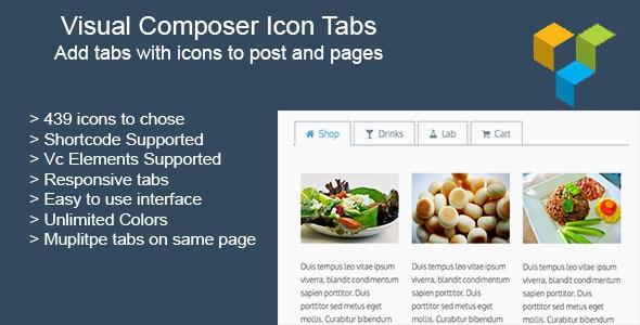 Visual Composer Icon Tabs v1.3