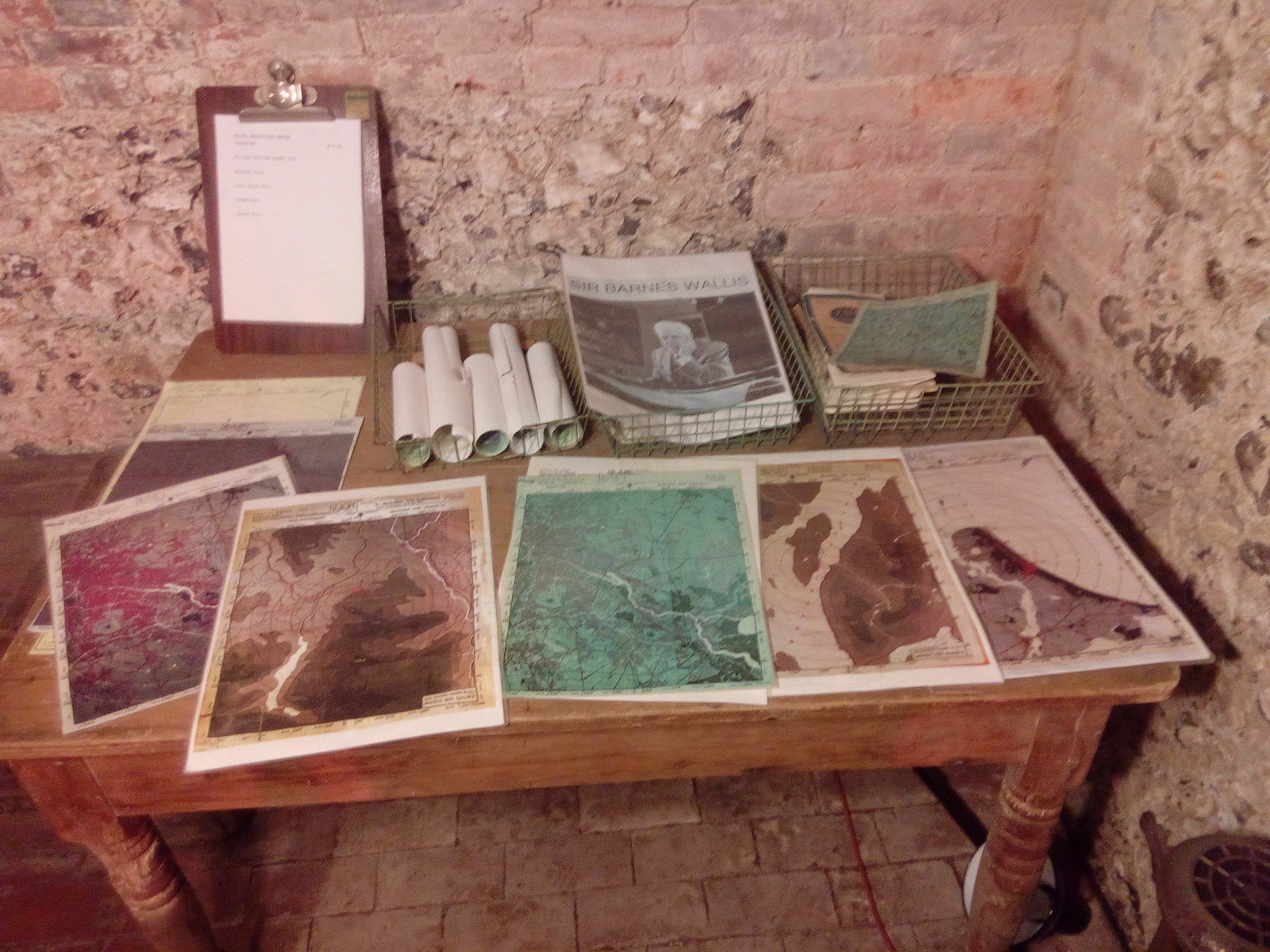 WW2 Maps The Ice House at Hughenden