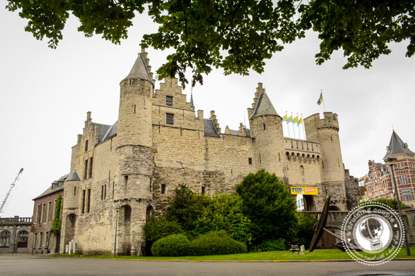 Castle Antwerp Belgium