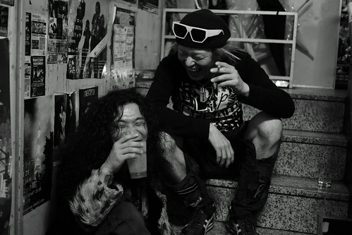 Extra shot after the show at Outbreak, Tokyo, 18 Mar 2015. 225