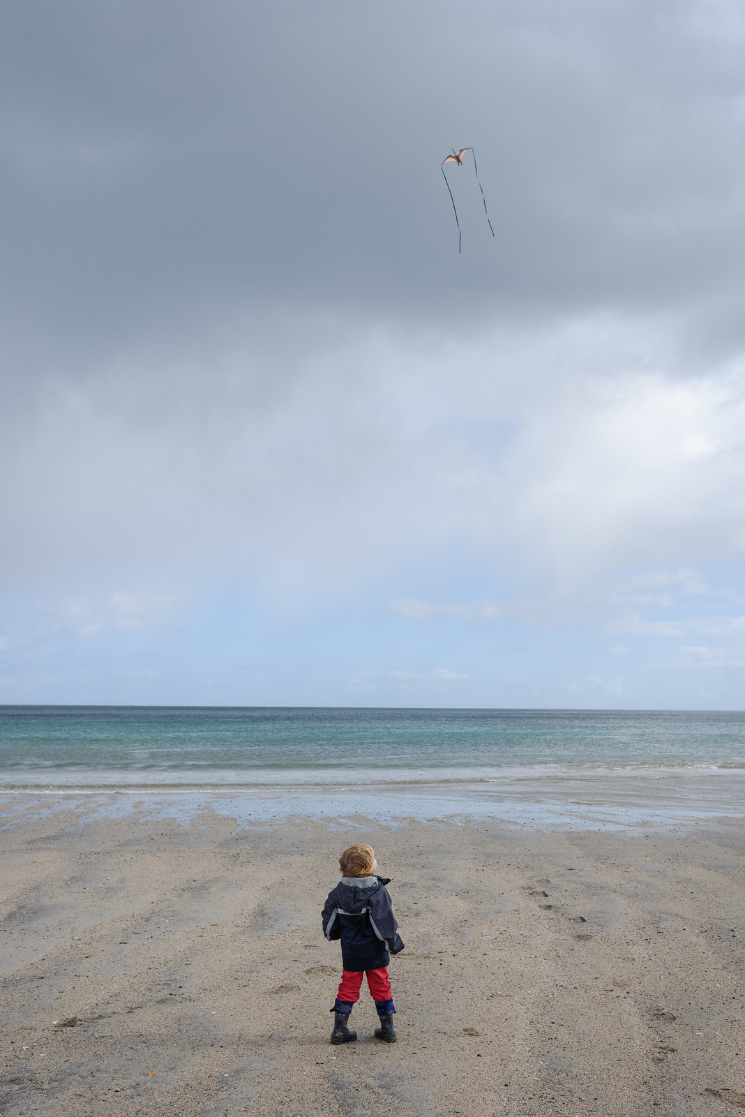 Watching the Kite