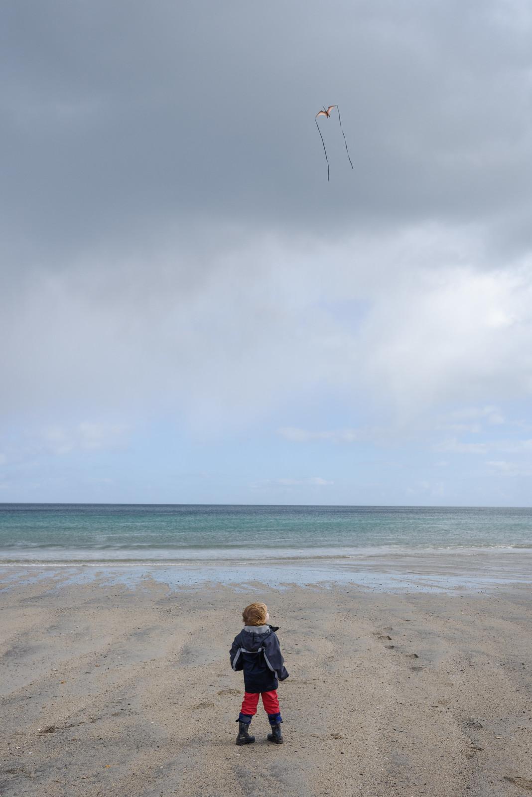 Watching the Kite