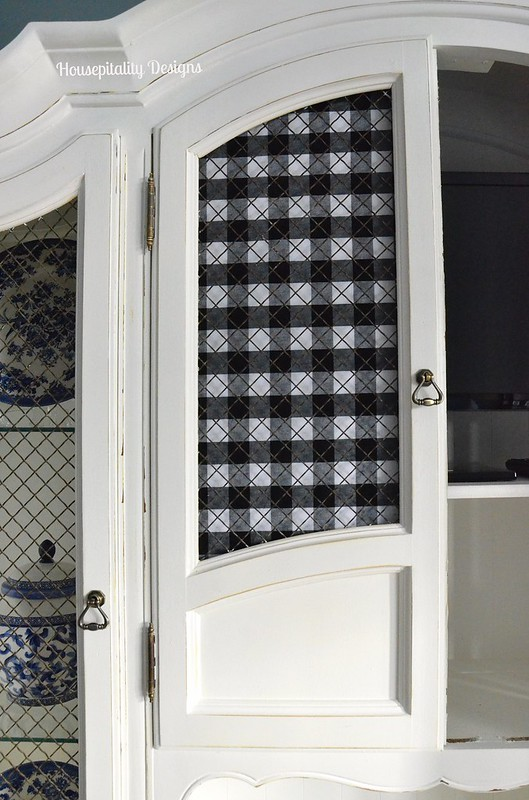 Guest Room Hutch Door Cover-Housepitality Designs
