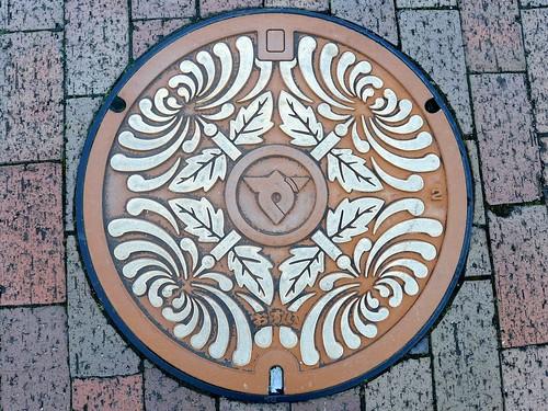 Zentsuji kagawa, manhole cover 2 (香川県善通寺市のマンホール2)