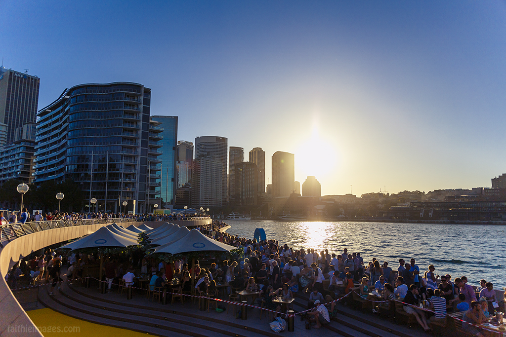sunset drinks in Sydney
