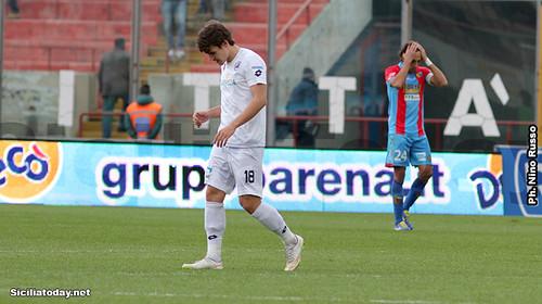 Catania-Spezia 2-2, il tabellino$