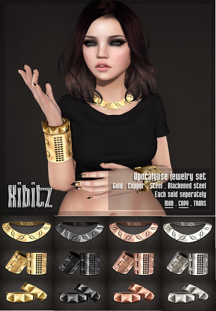Kibitz - apocalypse jewelry