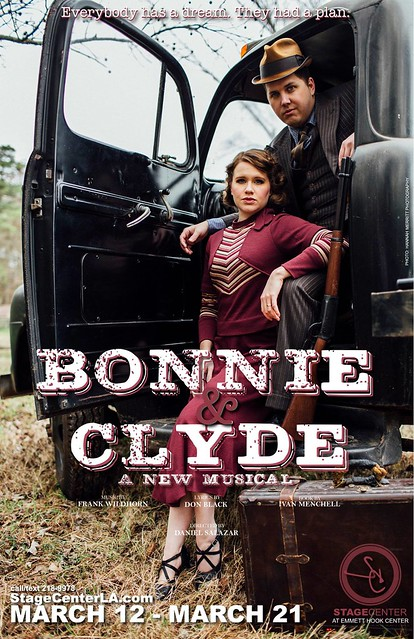 Stagecenter, Shreveport: a musical Bonnie & Clyde