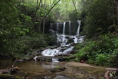 Virginia Hawkins Falls - in late April