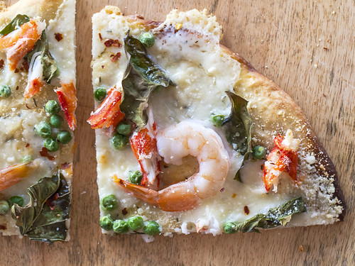 JACKIE ALPERS FOOD PHOTOGRAPHY: Seafood Pizza
