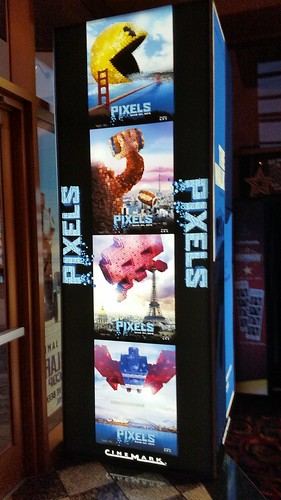 Pixels Movie Standee