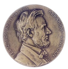 Lincoln Assassination medal 8-07-O