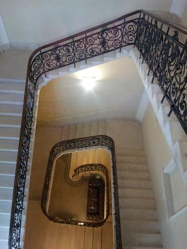 Stairway: Hotel Palazzo Zichy
