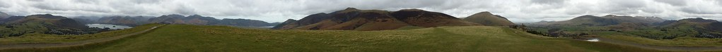 Latrigg panorama #sh