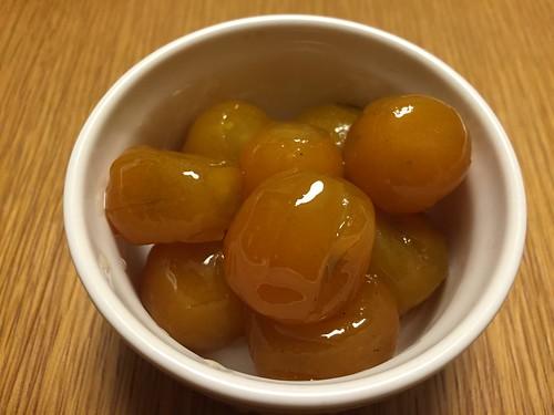 金柑の甘露煮1