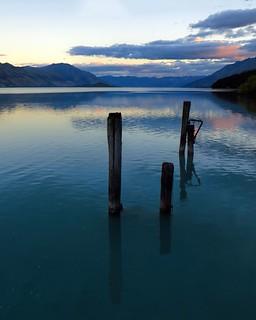 dusk, Kimloch, NZ