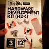 Had a weekend homework assignment to learn this kit. Well, it's Sunday nite, so... Anyone use this before? #littleBits #essdack #makered #STEAMmaker