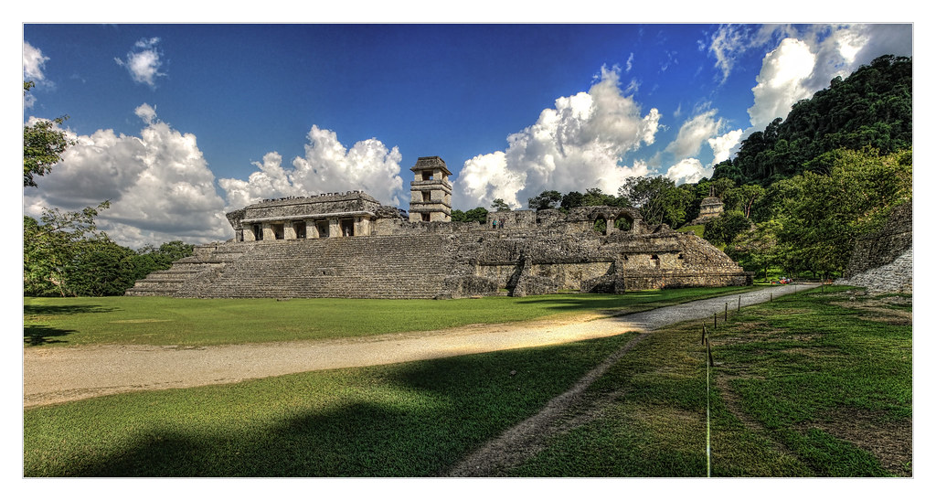 Palenque MEX - The Palace 05