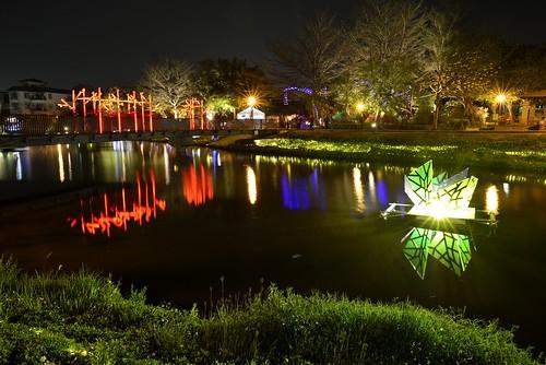 月津港-在月光下顯得璀璨美麗