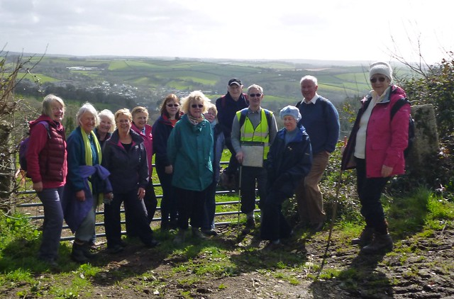 U3A Walking Group near Lostwithiel