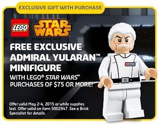 LEGO Star Wars Admiral Yularan