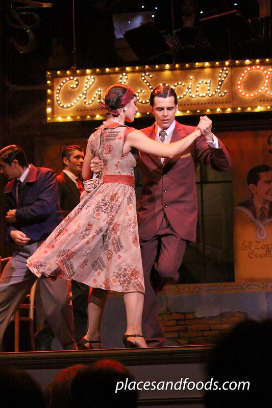Esquina Carlos Gardel argentine tango man leads