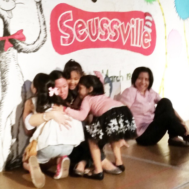 Don't cry because it's over, smile because it happened. -- Dr Seuss After 9 years of being a preschool mom, Im moving up myself. All 3 daughters went to this lovely preschool with 3 amazing teachers. I made great friends here. This was our community. Sad