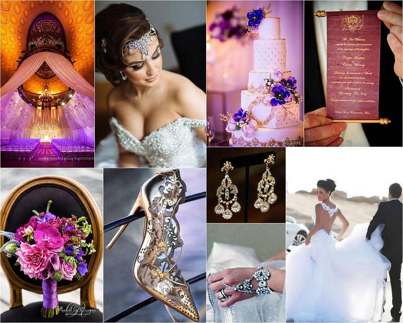 Scheherazade Arabian Nights wedding inspiration
