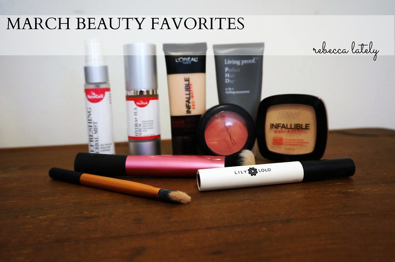 March 2015 Beauty Favorites 1