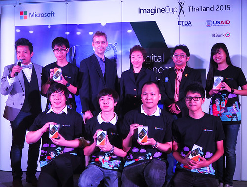 Microsoft Imagine Cup Thailand 2015 - Press Conference