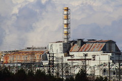 Chernobyl power plant and Pripyet