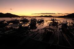 Sunset in Coron Palawan