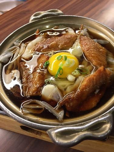 (吃到飽食記)同學會聚餐推薦,到高雄松江庭日本料理店找美食好料 (20)蒲鯛柳川燒