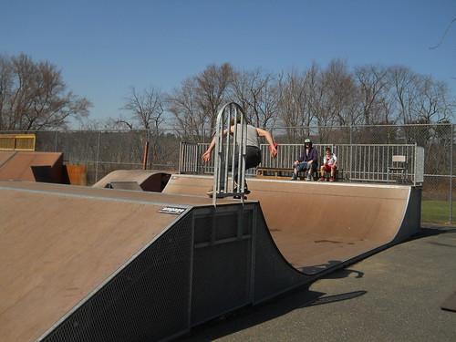 Skateboarding April 18 2015
