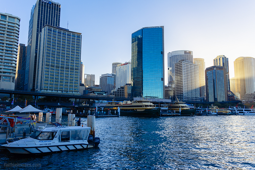 Sydney CBD as seen from Circular Quay