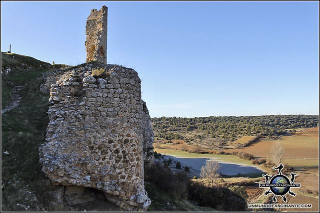 Resto de las murallas de Calatañazor, Soria. España.