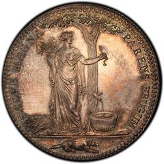 Castorland medal restrike