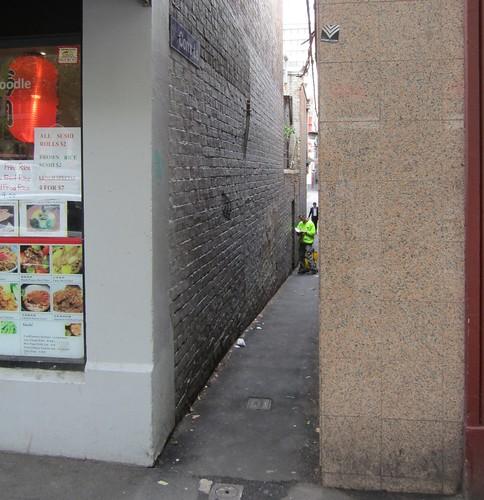 Corrs Lane, Melbourne - at Lonsdale Street