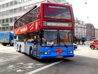 2001 East Lancs Volvo B7LT newly fitted with orange LED destinations