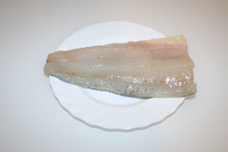 01 - Zutat Zanderfilet / Ingredient zander filet