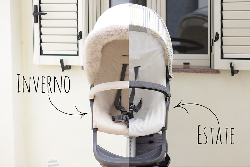 Stokke Xplory Winter Kit VS Summer Kit