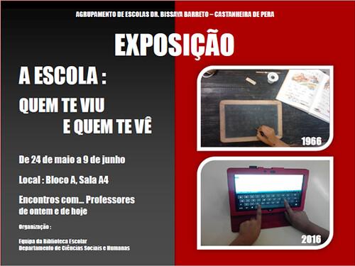 CARTAZ EXPOSIÇÂO ESCOLA