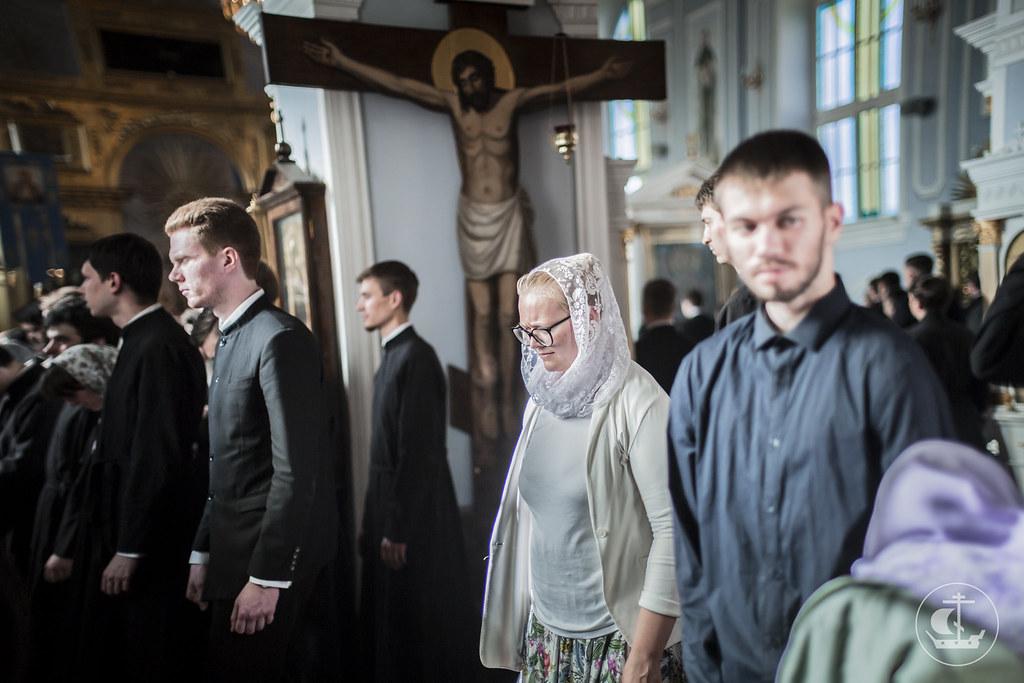 26 июня 2016, Неделя 1-я по Пятидесятнице, Всех святых / 26 June 2016, 1st Sunday after Pentecost. Sunday of All Saints