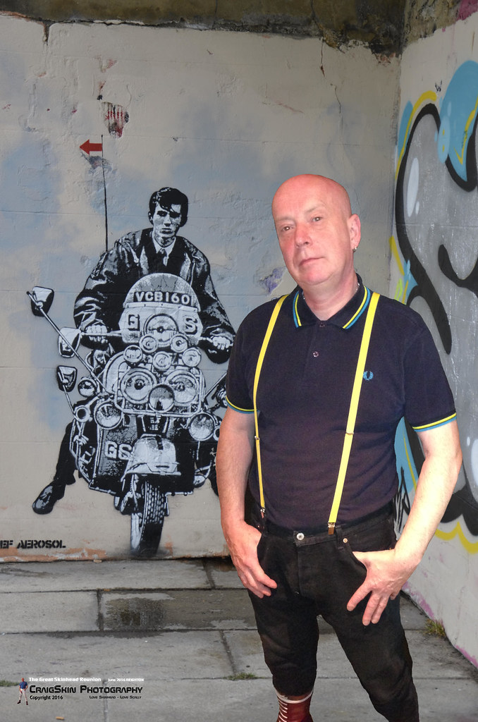 Scally and graffiti