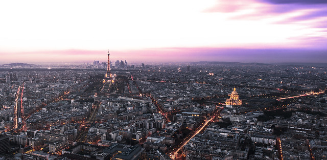Dreamscape: Paris's Skyline