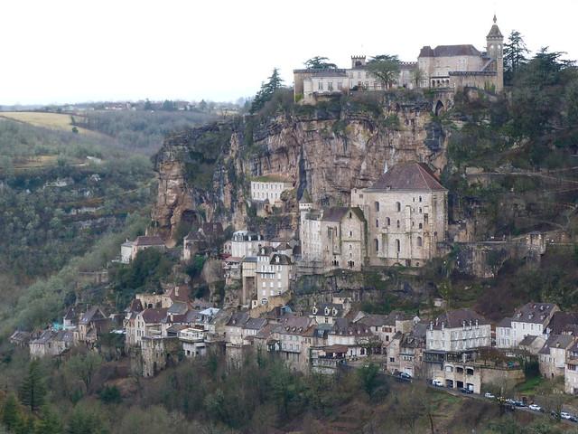 Las mejores vistas de Rocamadour desde Hospitalet (Francia)