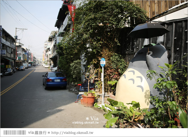 【大里龍貓】台中大里龍貓公車站《喬城站》~可愛的立體龍貓超吸睛!拍照去~21