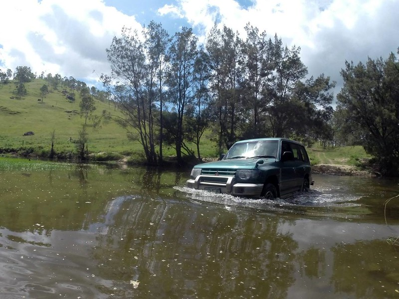 4WD Creek Crossing