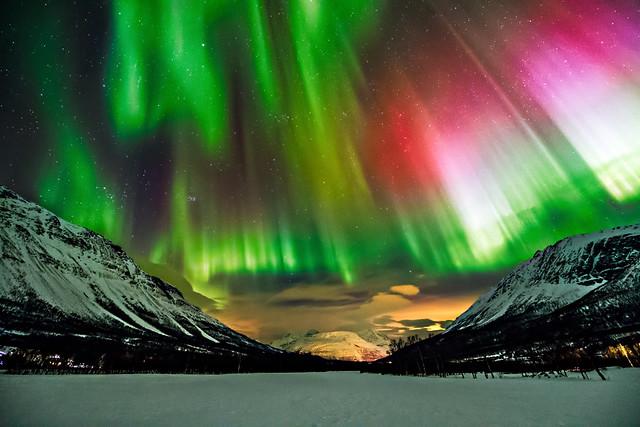Wayne Pinkston - Aurora in Kitdalen